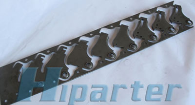 auto bracket progressive die strip