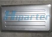 Gas stove side panel